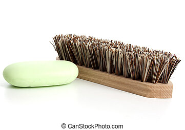 Scrubber   on a white background