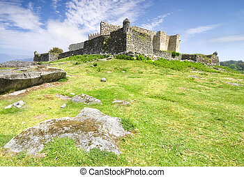 Ancient castle - Ruins of Lindoso Castle, Northern Portugal