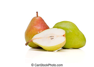 Two and half Belgian pears - Two and half Belgian pears...