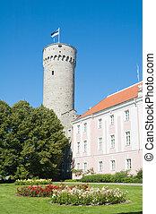 Tower Long Herman, Tallinn, Estonia