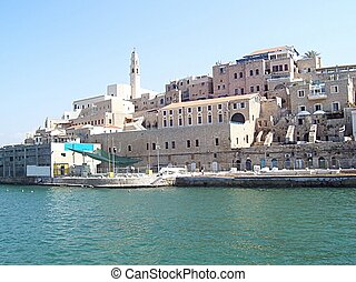Old Jaffa, Israel - Jaffa. The view from marina