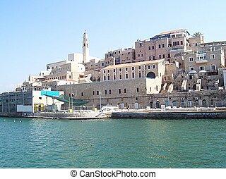 Old Jaffa, Israel - Jaffa. The view from marina