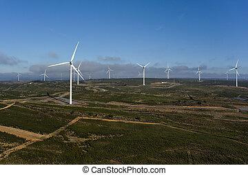 antena, Prospekt, komplet, wiatraki, elektryczny, moc,...