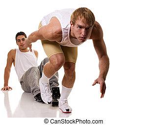 atlet, Sprinta