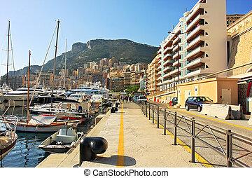 Monte Carlo promenade.