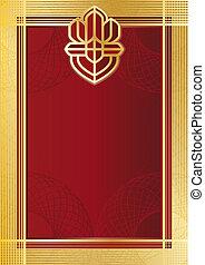 Certifikate redgold - Backgroundmodel of...