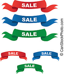 Various Sale Banners