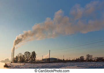 Steam up to the sky