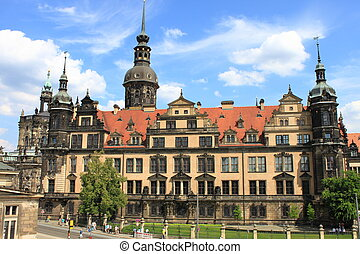 Royal Palace in Dresden, Germany