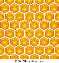 honeycomb Illustration contains a transparency...