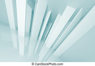 Abstract Urban Background - 3d Illustration of Abstract...