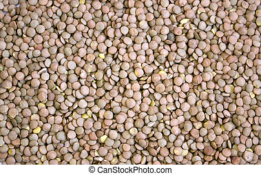 lentil seeds close up texture
