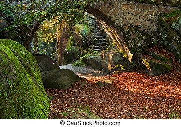 Beautiful Autumn Scene - View of a beautiful autumn scene...