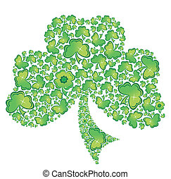clover - Vector illustration of clover - st. Patrick's day...