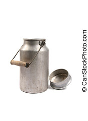 aluminum milk can