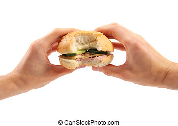 hamburger, siła robocza