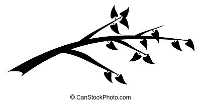 Branch-b - Branch - black and white
