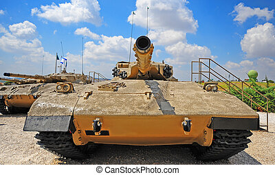 Tank Merkava - Memorial Site and the Armored Corps Museum in...