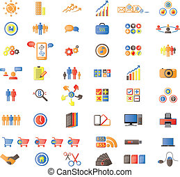 Web Icons, Internet & Website icons, signs and symbols,...