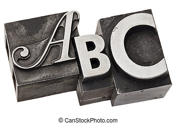 abc - first three alphabet letters