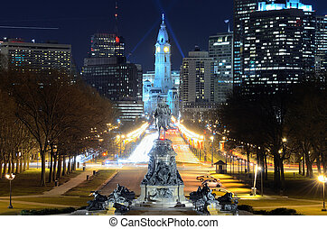 Philadelphia City Hall building