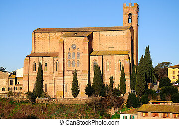 San Domenico (Siena) - Siena is a jewel of the tuscan...