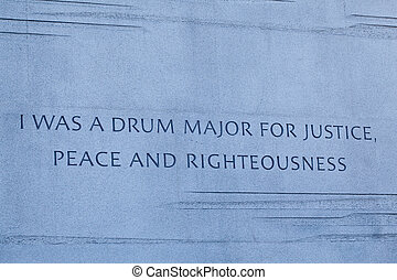 Martin Luther King Monument DC - Washington, DC - February...