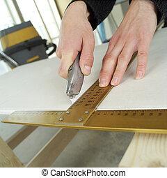 Carpenting - Close up of a carpenters work
