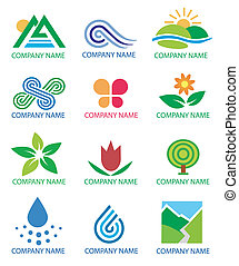 Logos_symbols_nature_landscape - Several concepts for...