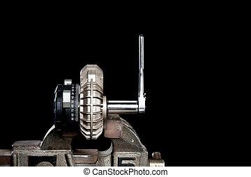Pump in vice