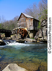Grist mill - Glade creek Grist mill in West Virginia