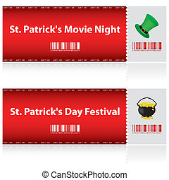 special tickets for St. Patrick's Day