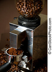 Modern Coffe Grinder make coffee