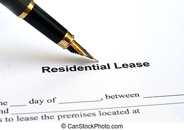 Residential lease
