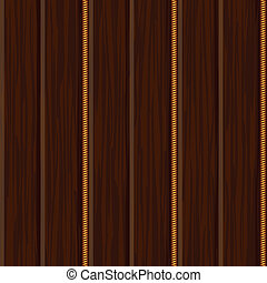 wood wall panel texture with gold decor