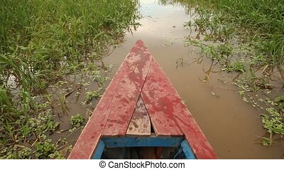 Boat At River, Amazon
