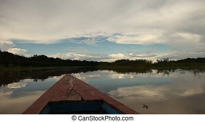 Clouds At Amazon River