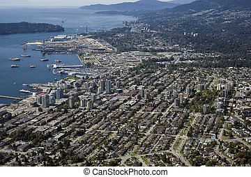 North and West Vancouver and Burrard Inlet