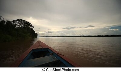 Shipping At Amazon River, Peru