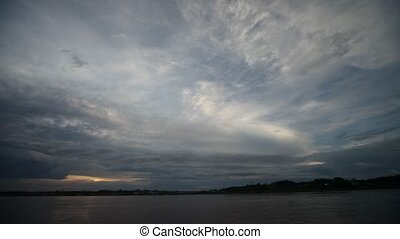 Clouds, Amazon, Peru - Amazon River, Peru