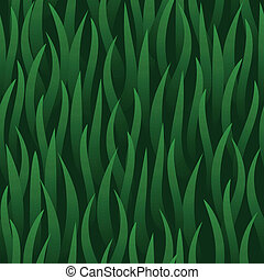 green grass field seamless background - vector green grass...