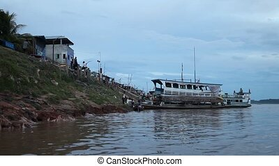 Ship on Amazon River