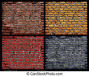 vector brick walls