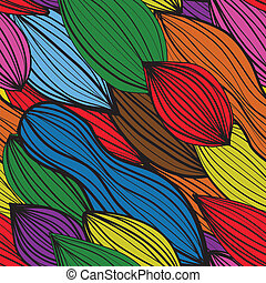 seamless colourfull abstract pattern with strips Vector...