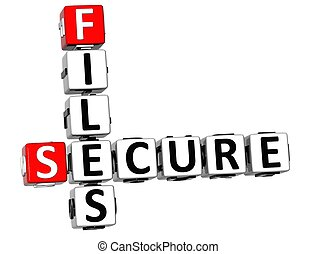 3DSecure File Crossword