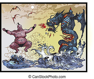 East Asian monsters