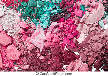 crushed eyeshadows - set of crushed eyeshadows as a...