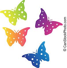 Color Butterflies