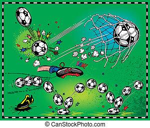 Soccer - Sport balls vector