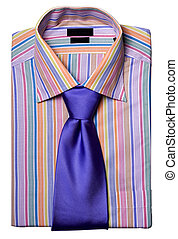 shirt with a tie